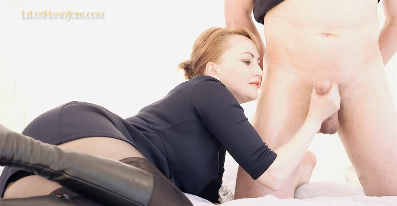 Double CumShot HandJob 31 – Ruined Cum – I JERK OFF 100 Strangers hommme HJ – Lilu