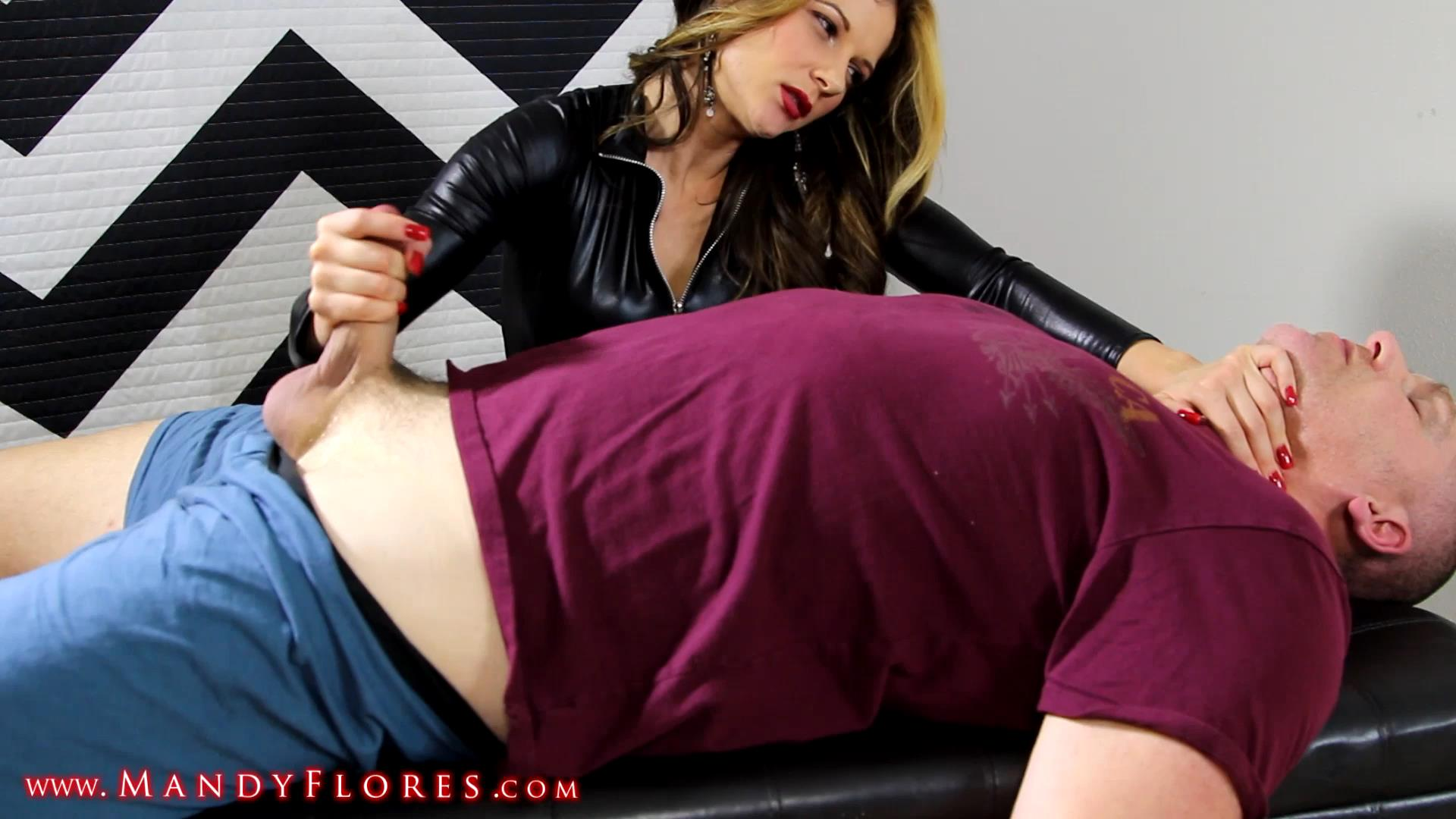 Sensual karate hands handjob feat Mandy Flores