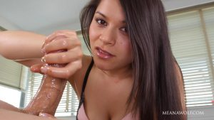 Teased, edged and owned – Meana Wolf