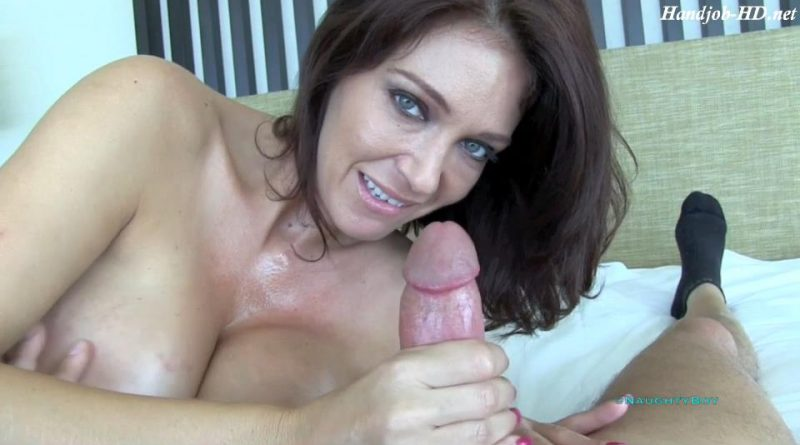 Charlee Chase – POV Hand and Tit Job – Naughty Boy POV