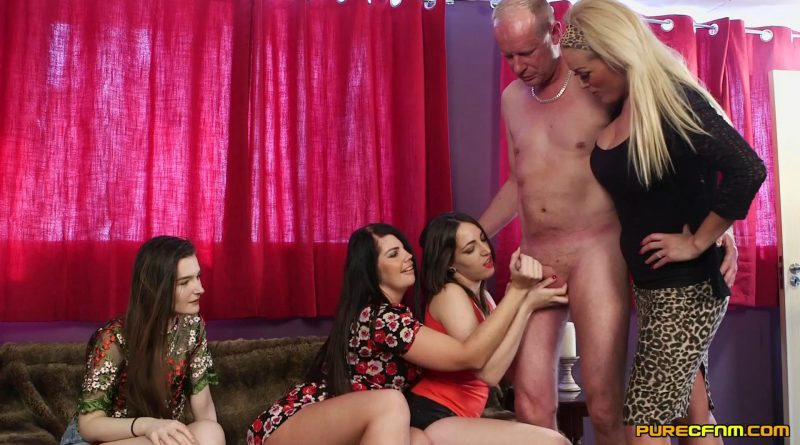 Daughter's Friends – Pure CFNM – Kylie K, Liz Rainbow, Rebecca Smyth, Selina Sky