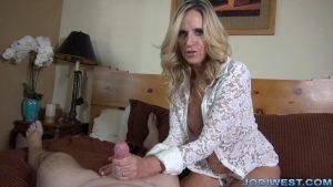 Denial Bedroom Handjob – Jodi West