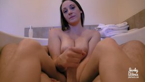 Melanie Hicks in Mommy Gave Me a Bath – Jerky Wives