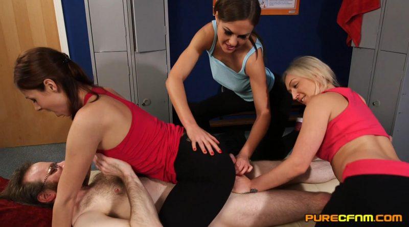 Yoga Pants – Pure CFNM – Amber Deen, Antonia Sainz, Tina Kay