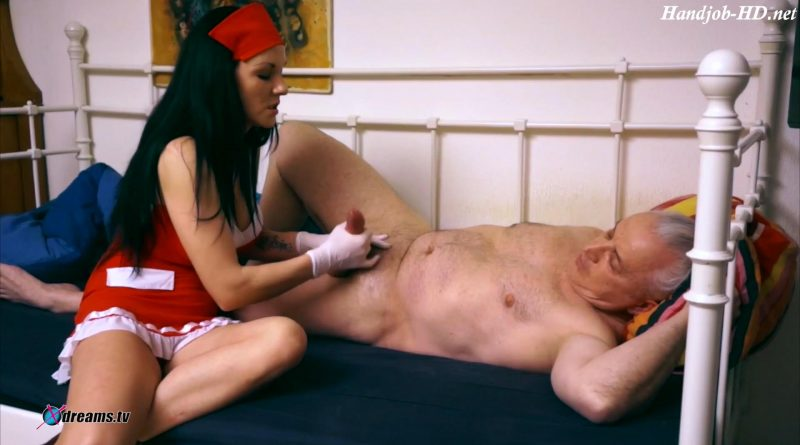 Nurse Mia Patient Glove Handjob – Xdreams Handjobs
