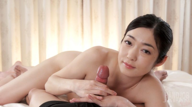 Ryu Enami's Caressing Handjob – Handjob Japan