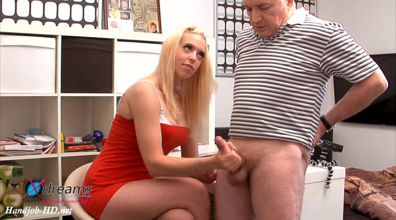 Nine-To-Fiver Penny's Post-Cum-Handjob – Xdreams Handjobs