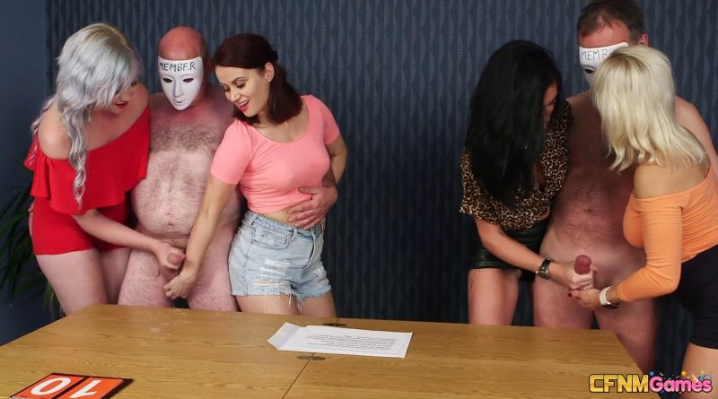 Keeping Score – CFNM Games – Ella Bella, Madlin Moon, Misha Mayfair, Tara Spades