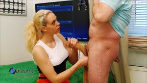Penny's Handjob With Skin-Colored Tights – Xdreams Handjobs
