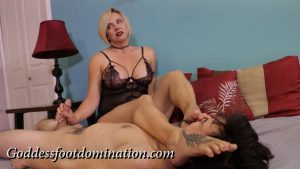 Post Orgasm Torture – Goddess Foot Domination – Goddess Brianna