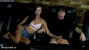 Carolina Sweets – Jerked Off By The Brat In The Movies – Primal's HANDJOBS