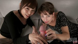 Shino Aoi, Marie Double Handjobs – Handjob Japan