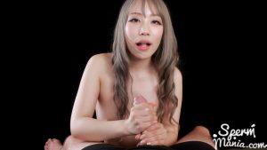 Airi Mashiro Strokes with Cum – Sperm Mania