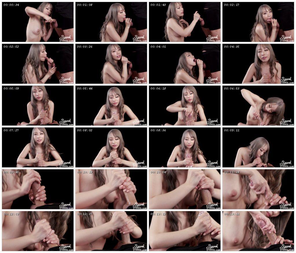 Airi Mashiro Strokes with Cum - Sperm Mania_scrlist