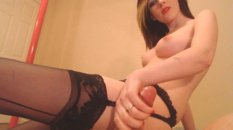 Cock Play in Stockings – Sirenia