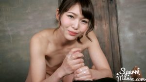 Shino Aoi Uses Cum to Stroke A Bunch of Dicks – Sperm Mania