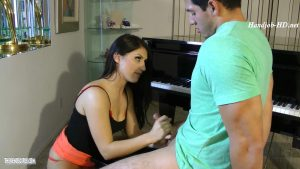 Teaching Her Teacher To Perform For Her Pleasure – Naughty 18 yr Old Student Scarlet Banks – Women on Top – of men