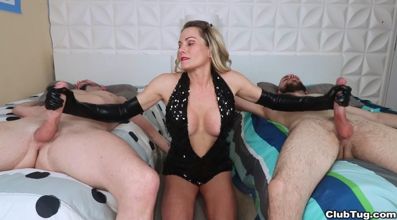 Two Guys Cum – Club Tug – Allura Skye