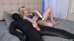 Kate Englands Epic Femdom Cumshot – Finish Him