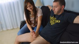 Melina's First Time Handjob – SilverCherrys Handjobs With a Twist