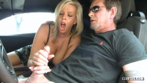 Mom Carey Learns Stick Shift – Club Tug – Carey Riley