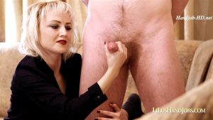 New Shooter at LiLusHandJobs – I JERK OFF 100 Strangers hommme HJ