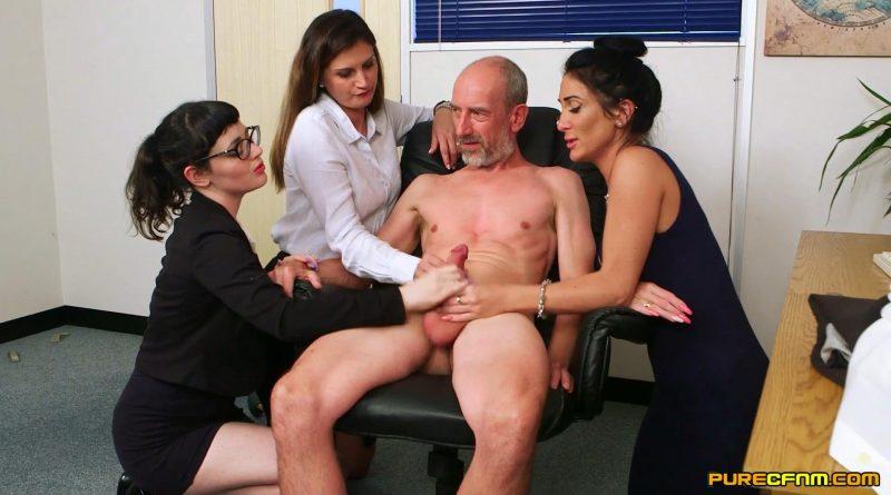 Office After Hours – Pure CFNM – Dion De Rossi, Ella Bella, Eva Johnson