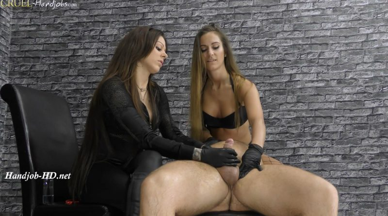 Cleo and Amanda give him a handjob – Cruel Handjobs