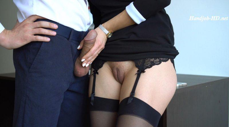 Secretary Handjob In Office – Veronika Charm