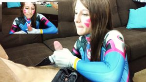 Overwatch D.Va Plays With Her Joystick – Amber Sonata