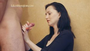 Close up HandJob_Huge Ruined Facial – I JERK OFF 100 Strangers hommme HJ – Lilu