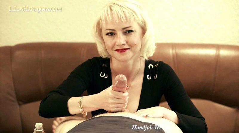 POV HandJob 13_ Very Long Nails – I JERK OFF 100 Strangers hommme HJ – Lilu