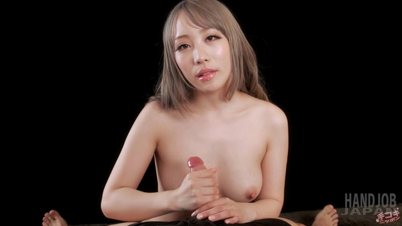 Sexy handjob with Airi Mashiro's big titties – Handjob Japan