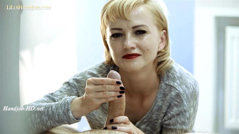 Shiny POV HandJob - sexy nails _ - I JERK OFF 100 Strangers hommme HJ - Lilu