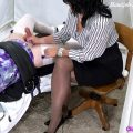 Thick Sissy Cream Milking – Forced By Mommy