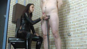 Extreme huge orgasm – Cruel Handjobs – Mistress Sophie