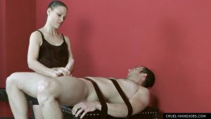 Forceful cuming – Cruel Handjobs – Lady Ann