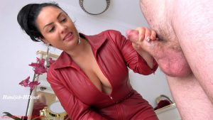 Ruined once, twice, thrice… and locked! – Mistress Ezada Sinn