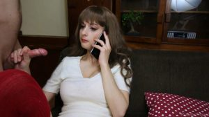 Sexy Phone Call – Lots of DeepThroat and Throat-Fucking while talking while I'm on the phone – Amedee Vause in Deep Throat Land