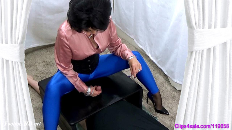 Spandex Milking 5 – Forced By Mommy