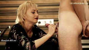 Difficult HandJob with Swallow – I JERK OFF 100 Strangers hommme HJ – Lilu