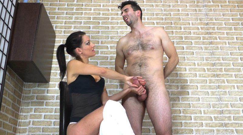 Erotic jerking – Cruel Handjobs – Mistress Bella