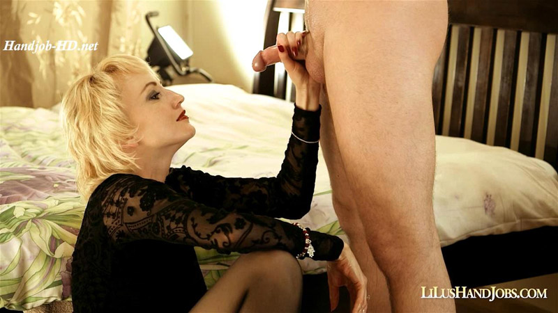 LiLusHandJob at Hotel with Facial – I JERK OFF 100 Strangers hommme HJ – Lilu