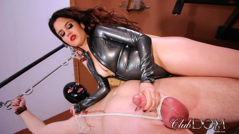 Miss Roper's Dungeon Slave Milked – Club Dom – Raquel Roper