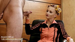Ruined HandJob with Cum on my Sport Suit – I JERK OFF 100 Strangers hommme HJ – Lilu