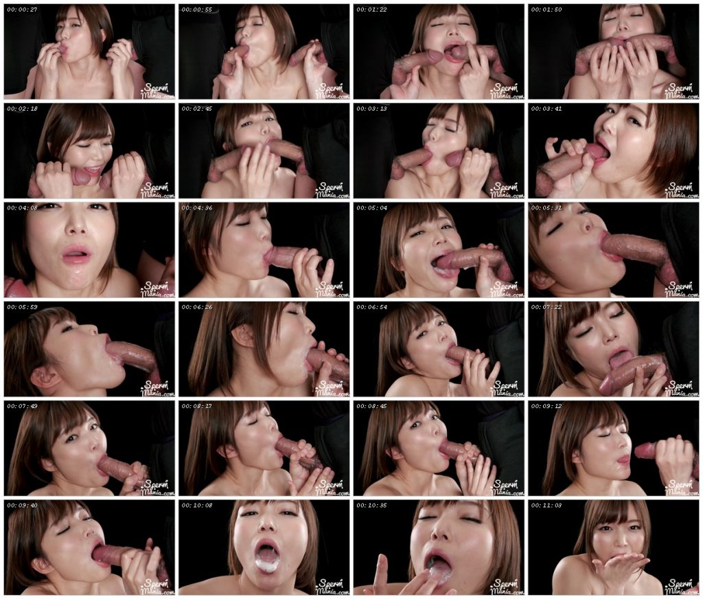 Shino Aoi's Blowjob with Her Cum Filled Mouth – Sperm Mania_scrlist