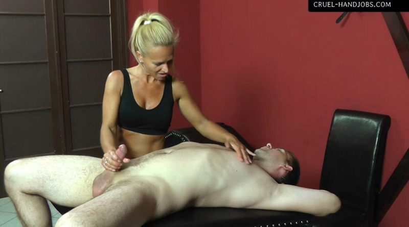 Come and enjoy – Cruel Handjobs – Mistress Gitta