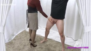 Cum All Over My Double Layered Pantyhose – Forced By Mommy
