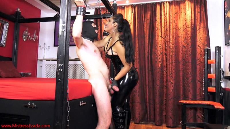 Denied between My thighs - Mistress Ezada Sinn