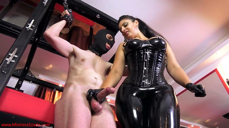 Huge ruined cumshot - Mistress Ezada Sinn
